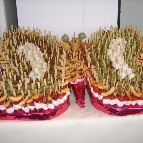 presentation buffet auberge 3 vallées